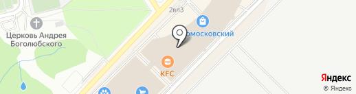 Магазин аксессуаров на карте Московского