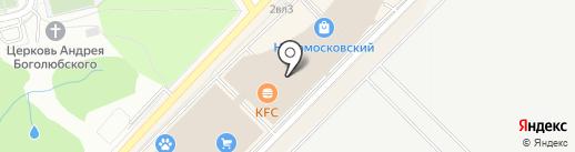 Lusio на карте Московского