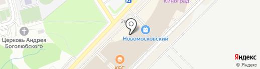 Наши Шторы на карте Московского