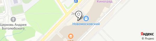 Раритетъ на карте Московского