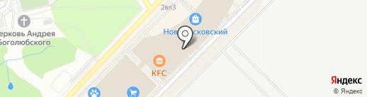 Якитория на карте Московского