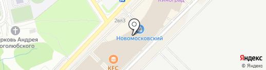 Люкс-Оптика на карте Московского