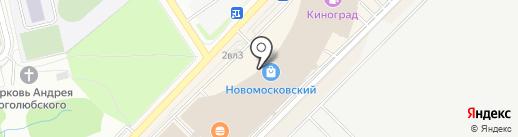 Водевиль на карте Московского