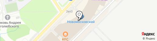 АРТ Базар на карте Московского