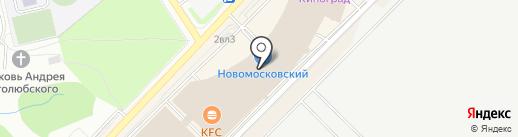 Primo piano на карте Московского