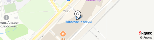 Стрижуля на карте Московского