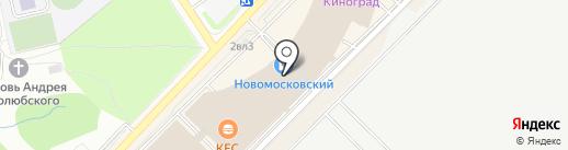 Остров Sокровищ на карте Московского