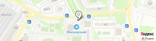 Магазин овощей и фруктов на карте Московского