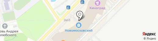 Розмарин на карте Московского