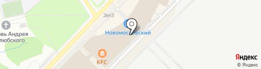 Город Игрушек на карте Московского