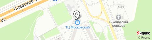 Олимп на карте Московского