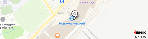 MEN CITY на карте Московского