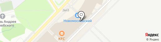 Оранжевый Слон на карте Московского
