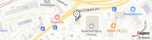 Суши Wok на карте Красногорска