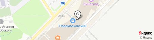 Польша на карте Московского