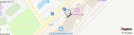 Oda Land на карте Московского