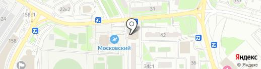 КБО на карте Московского