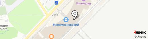 Котофей на карте Московского