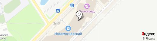 MODE на карте Московского