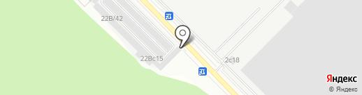 Пункт приема аккумуляторов на карте Московского