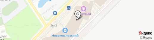 Covani на карте Московского