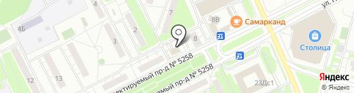 Территория кофе на карте Московского