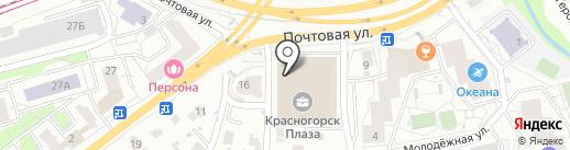 Плитка Сокол Плюс на карте Красногорска