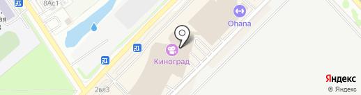 Киноград на карте Московского