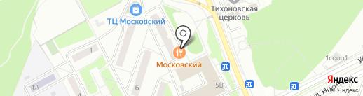 Джони-Гейм на карте Московского