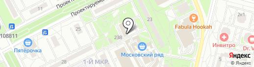CyberPlat на карте Московского