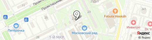 Магазин фастфудной продукции на карте Московского