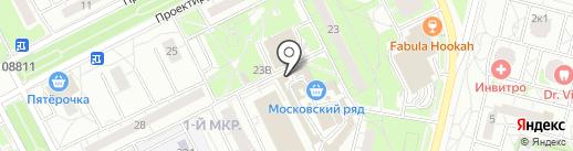 Мобил Элемент на карте Московского