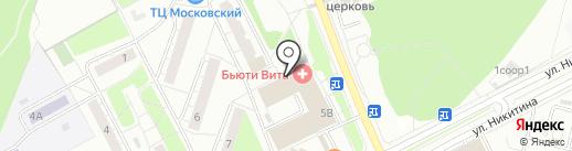 Гамлет на карте Московского