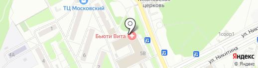 Рембыттехника на карте Московского
