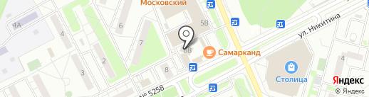 Магазин мясных изделий на карте Московского