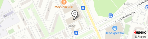 Ателье на карте Московского