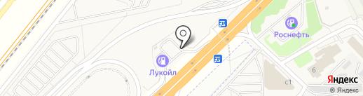 АЗС ЛУКОЙЛ на карте Новоивановского
