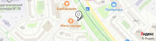 Магазин фруктов, сухофруктов и специй на карте Москвы