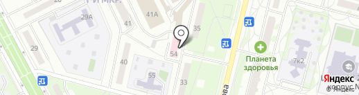Женская консультация на карте Московского