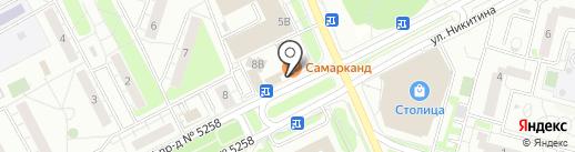 Продуктовый магазин на карте Московского