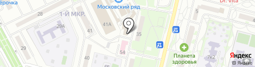 Декольте на карте Московского