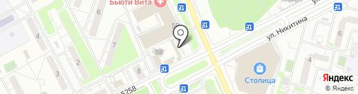 Эконом-парикмахерская на карте Московского