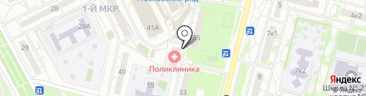 Аптеки Столицы на карте Московского