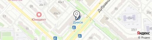 NetSend на карте Москвы