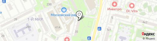 Натали на карте Московского