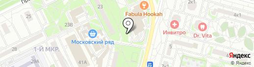 Шиномонтажная мастерская на карте Московского