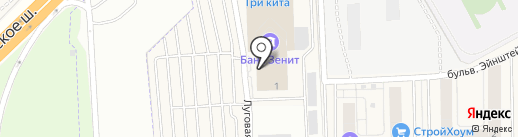 Алина-Эстейт на карте Новоивановского