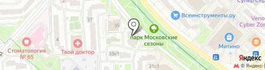 Manger Delicious на карте Москвы