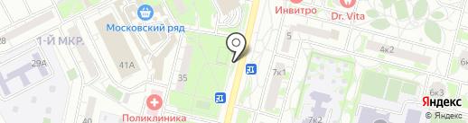 Строительный магазин на карте Московского