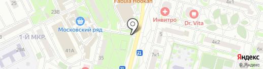Магазин цветов на карте Московского